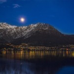 Luna sopra Lierna